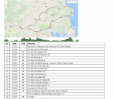 Triumph National Rally Route 2018