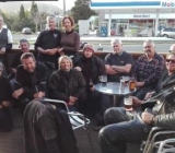 After ride at Waihi pub