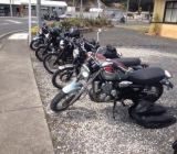 Bikes at Kopu Pub