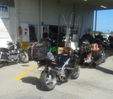 Fuel Stop at Haast