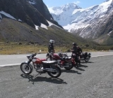 clear day at the homer tunnel