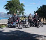 Ken , Bill & John Otago Southland Chapter members on tour
