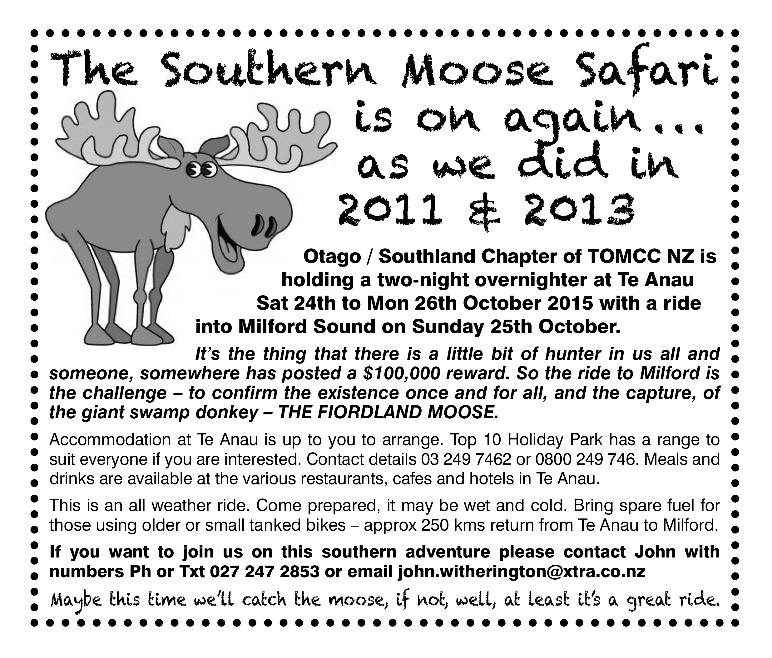 2015 moose safari
