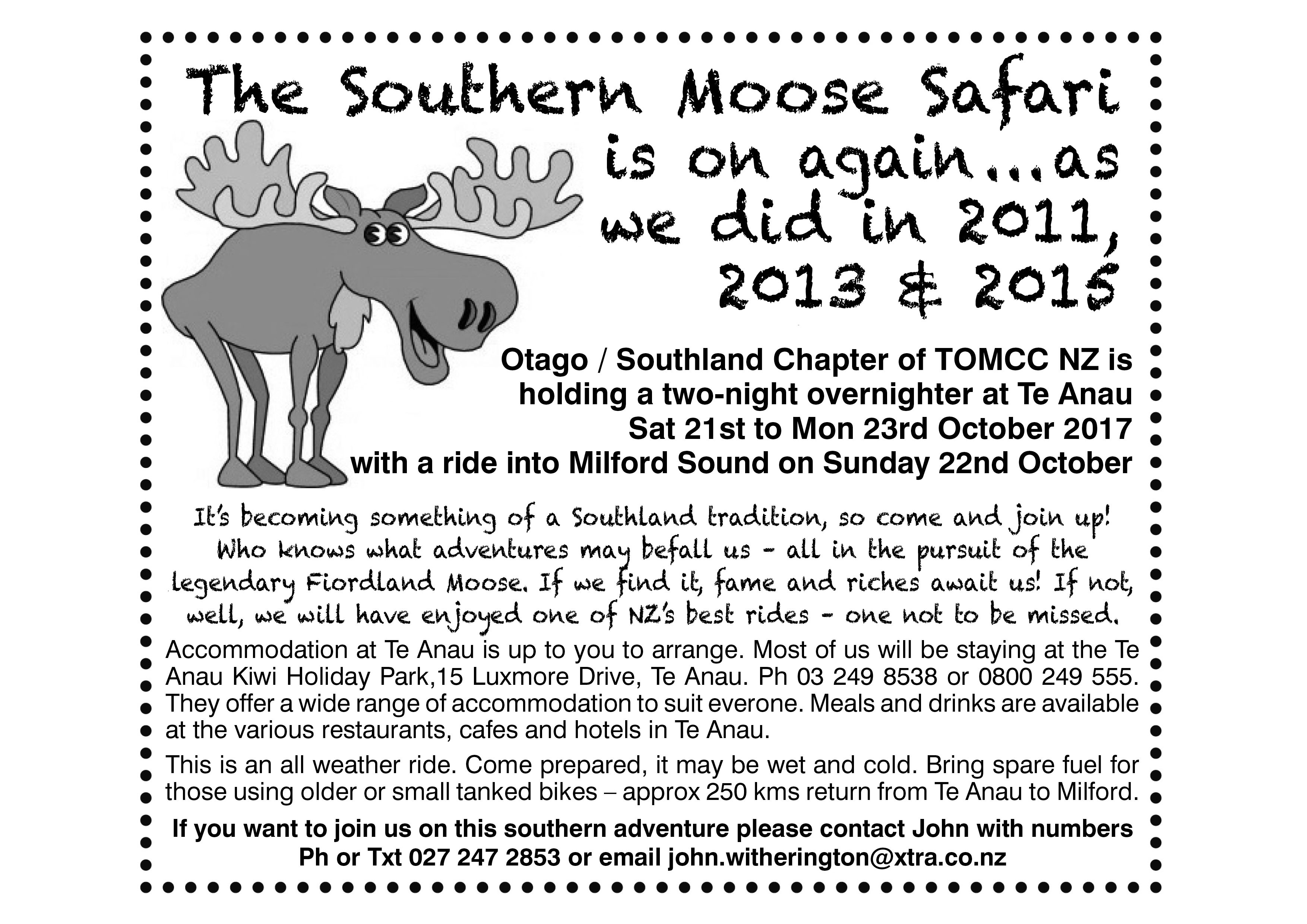 moose safari advert