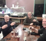 Out on the town at Haast